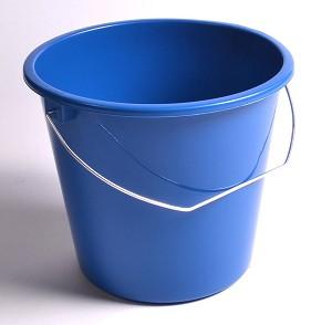 Emmer 5ltr Kunststof blauw