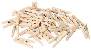 Wasknijpers hout prijs a48  stuks