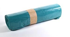 Huisvuilzakken Blauw Zwaar 80x110