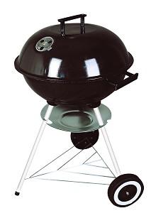Barbecue 40 cm rond zwart. BBQ