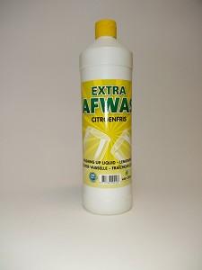 Afwasmiddel fles 0,5 of 1 ltr