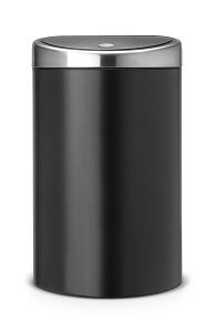 Brabantia Touch Bin 40L Zwart / Matt FPP
