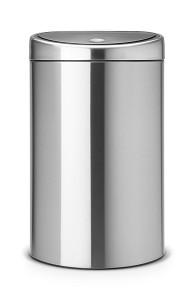 Brabantia Touch Bin 40L Matt Steel FPP