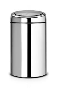 Brabantia Touch Bin metaal 20L Brilliant