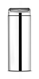 Brabantia Touch Bin rechthoek 25L Brilli