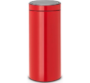 Brabantia Touch Bin 30L Passion Red