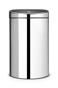 Brabantia Touch Bin Recycle 10/23L Brill