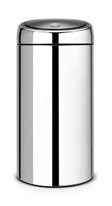 Brabantia Touch Bin 45L Brilliant Steel