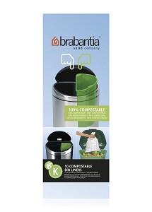 Brabantia Afvalzakken Comp K/ 10L x10