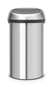 Brabantia Touch Bin 60L Matt Steel