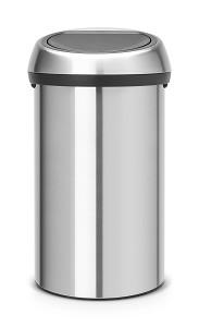 Brabantia Touch Bin 60L Matt Steel FPP