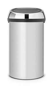 Brabantia Touch Bin 60L Metallic Grey