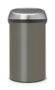Brabantia Touch Bin 60L Platinum / FPP
