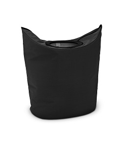 Brabantia Wastas 50 liter ovaal Black