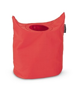 Brabantia Wastas 50 liter ovaal Warm Red