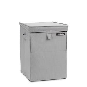 Brabantia Wasbox stapelbaar 35l grey
