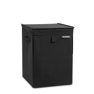 Brabantia Wasbox stapelbaar 35l black