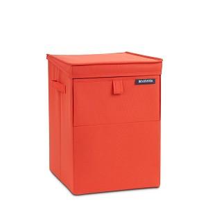 Brabantia Wasbox stapelbaar 35l warm red