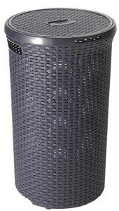 Curver Style wasbox rond 48ltr antraciet