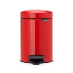 Brabantia newIcon pedaalemmer 3 ltr red