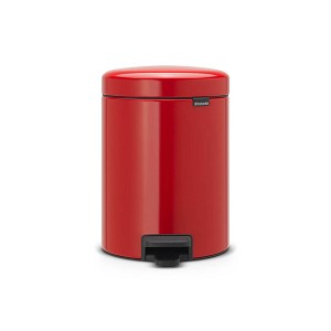 Brabantia newIcon pedaalemmer 5 ltr red