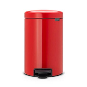 Brabantia newIcon pedaalemmer 12ltr red