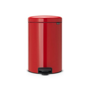 Brabantia newIcon pedaalemmer 20ltr red