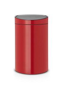 Brabantia Touch Bin 40L passion red
