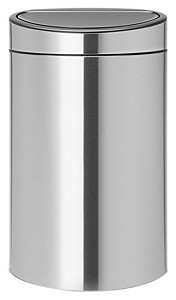 Brabantia Touch Bin 40L matt steel