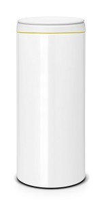 Brabantia FlipBin 30L wit/ light grey