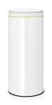 Brabantia FlipBin 30L wit/ light grey
